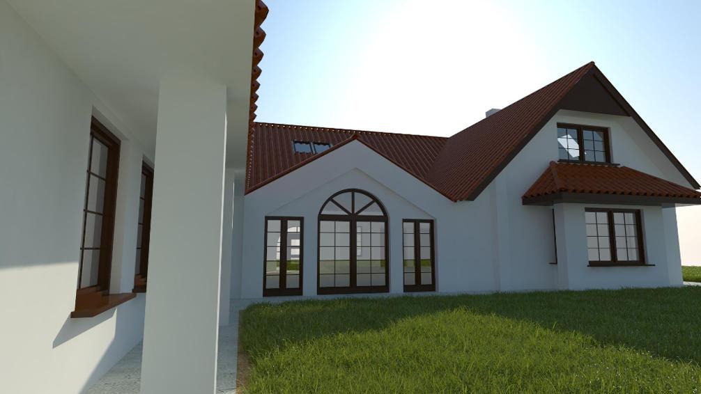 Dom jednorodzinny w Pruszczu