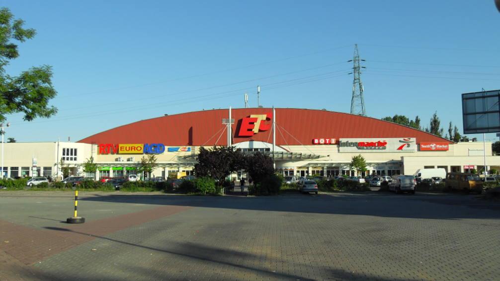 Galeria usługowo-handlowa ETC w Gdańsku ul. Rzeczpospolitej 33