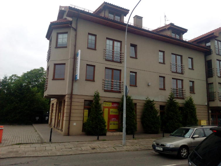 Budynek mieszkalno-usługowy na ulicy Polanki w Gdańsku