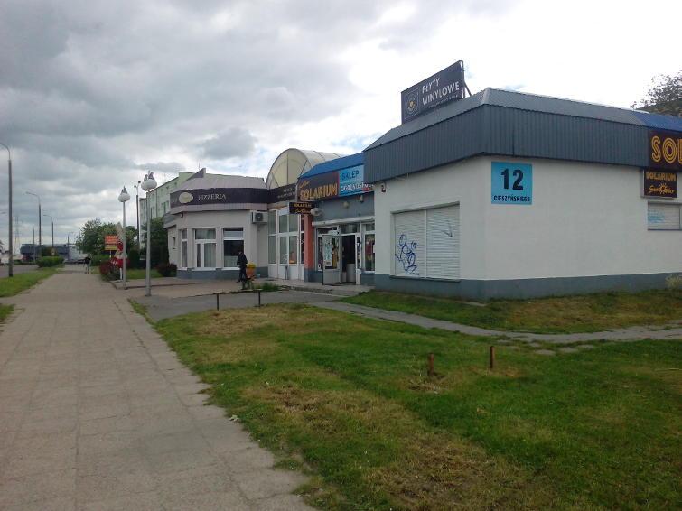 Galeria usługowo-handlowa w Gdańsku ul. Cieszyńskiego