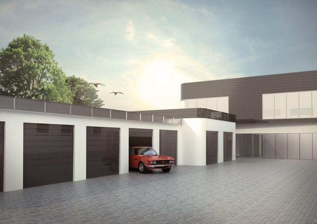 Garaże w Gdyni na osiedlu Karwiny