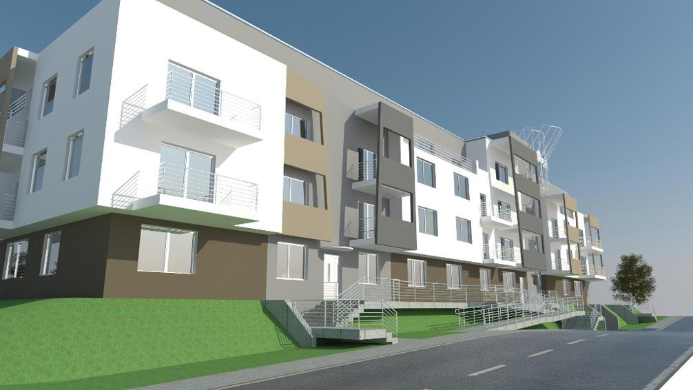 Kompleks mieszkaniowy na ulicy Kartuskiej w Gdańsku