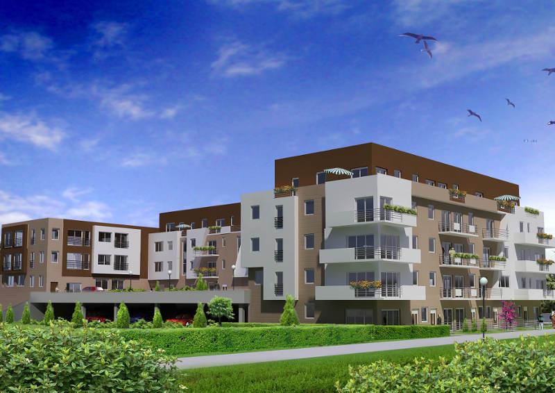Kompleks mieszkaniowo-usługowy na ulicy Kartuskiej w Gdańsku