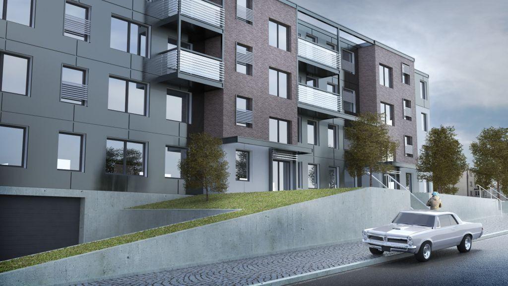Kompleks mieszkaniowy na ulicy Lipowej w Gdyni