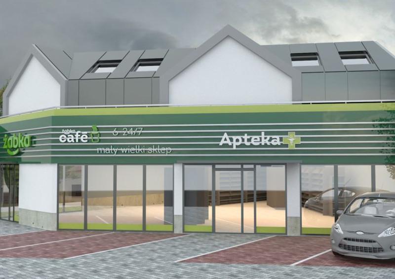 Kompleks usługowo-handlowy na ulicy Bajki w Gdańsku