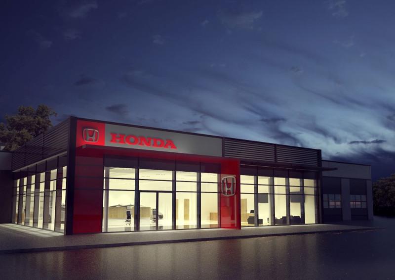 Salon samochodowy Honda