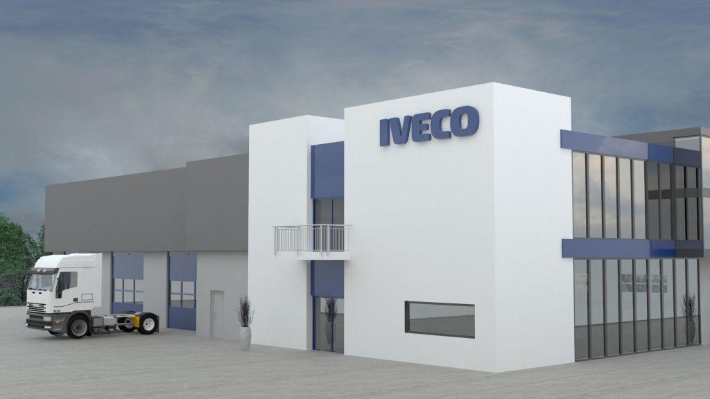 Salon samochodowy Iveco