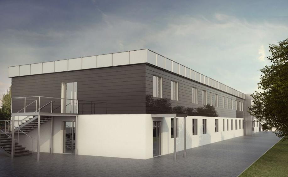 Budynek administracyjno-biurowy Spółdzielni Mieszkaniowej Karwiny w Gdyni